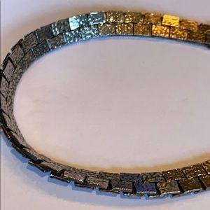"""Jewelry - Sterling flat link bracelet 7 1/2"""""""